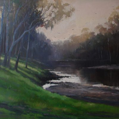 """Evening on the Lachlan"""
