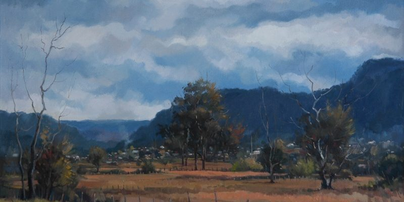 """Storm Clouds, Gloucester"""
