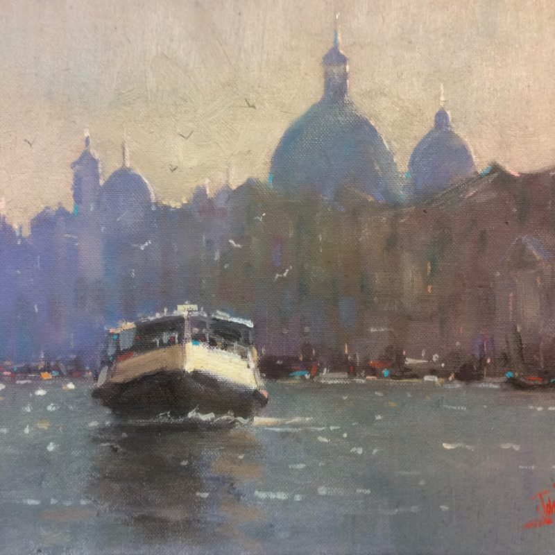 """Early Morning, Venice"""
