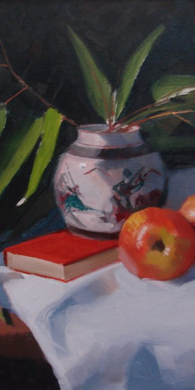 """Apple and Gumleaves"""
