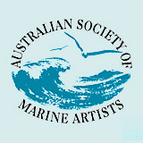 Australian Society of Marine Artists logo